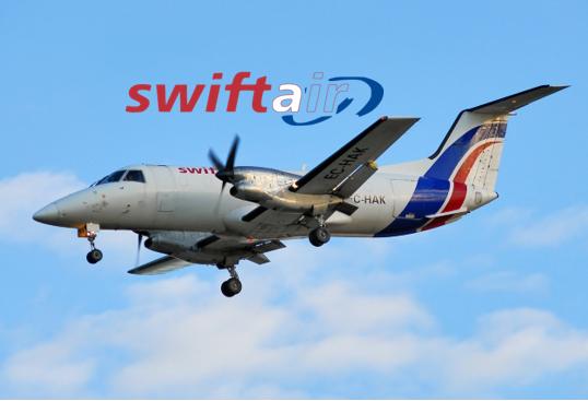 New Customer – SwiftAir EMB120