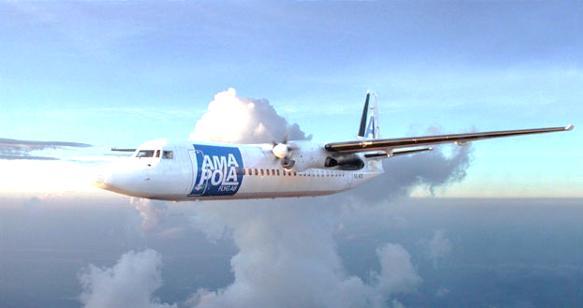 New Customer – Amapola Flyg – Fokker 50