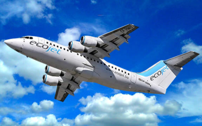 New Customer – EcoJet – AVRO RJ85