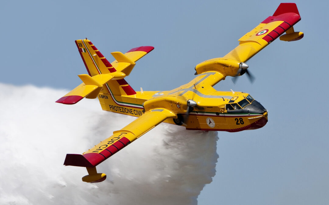 The Water bomber – CL-415